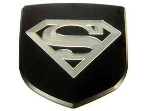 New Dodge Magnum Charger Custom Rear Car Trunk Emblem Badge Black Superman