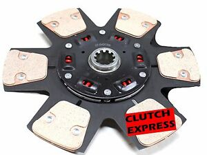 Cf Stage 3 Ceramic Race Clutch Disc 1986 1 2001 Ford Mustang Gt Lx 4 6l 5 0l V8