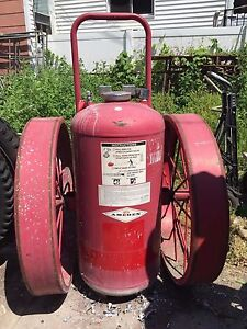 Fire Extinguisher 300lb Bc Dry Chemical Amerex Wheel Unit