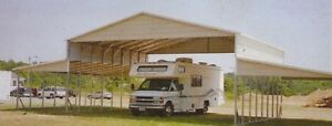 54 x 26 Deep Rv Carport Free Del Installation Nation wide prices Vary