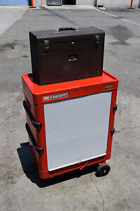 Facom 2502 Kennedy Rolling Trolley Metal Machinist s Tool Chest Box Workstation