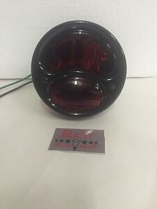 Original Style Black Ford Model A Duolamp Tail Light 1928 1931 License Stop