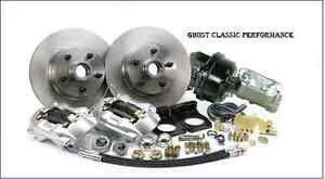 1964 1966 Ford Mustang V 8 Auto Manual Front Disc Brake Conversion Kit By Mpb