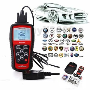 Kw808 Maxiscan Obdii Eobd Obd2 Scanner Car Code Reader Tester Diagnostic Ms509