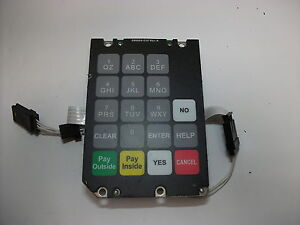 Dresser Wayne Fuel Dispenser Keypad With Connection Assembly 886695 044