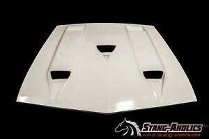 1969 1970 Mustang Shelby Type Hood With Ram Air Chamber