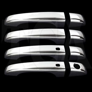 For Dodge Journey 2013 2014 2015 Chrome 4 Door Handle Covers Wo Psk W Smart Kh