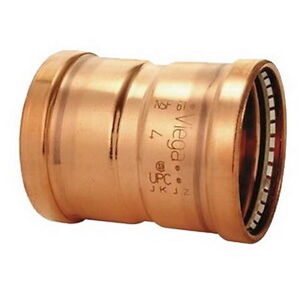 Viega Propress 0915xl Copper Coupling With Stop 3