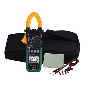 New us Ship Ms2108a Digital Clamp Meter Ac dc Current Voltage Resistance Tester
