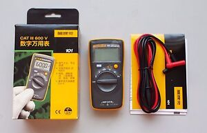 Us Ship Fluke 101 Pocket Digital Multimeter Meter Smaller Than Fluke 17b No Amp