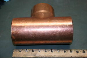Mueller Copper Tee Fitting Coupling 4