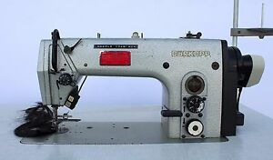 Durkopp Adler 272 1400 Needle Feed Automatic Industrial Sewing Machine 220v 3ph