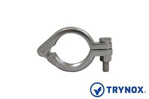 E line Sanitary Stainless Steel 304 3 Clamp Bolted Unpolished Trynox