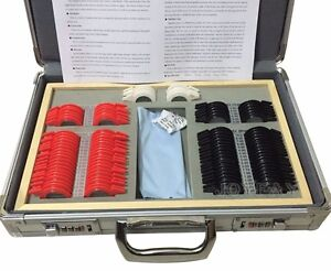 Trial Lens Set 104 Pcs Plus Trial Frame And Locking Aluminum Case