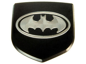 New Dodge Charger Custom Front Emblem Badge Black Batman