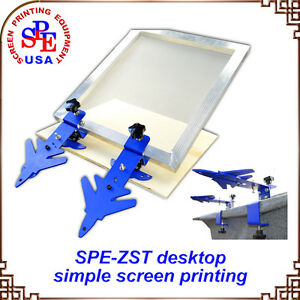 Simple Screen Printing Press Desktop Simple Screen Printing