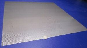 Perforated 304 Stainless Steel Sheet 030 Thick X 24 X 24 062 Hole Dia