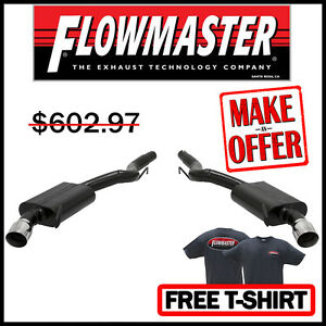 Flowmaster 2015 2017 Ford Mustang Gt 5 0l V8 3 Axle back Stainless Exhaust Kit