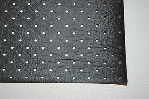 Ford Perforated Headliner Vinyl Black Material By The Yard Top Quality