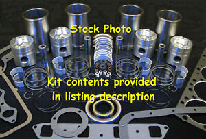 Ford 7810 7910 8000 8600 8700 Tw5 Tw10 Complete Major Engine Overhaul Kit 401m