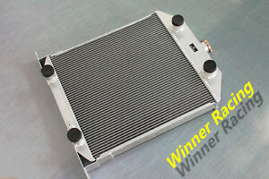 Aluminum Alloy Radiator Ford Flathead V8 M T 1942 1948 High Performance 26