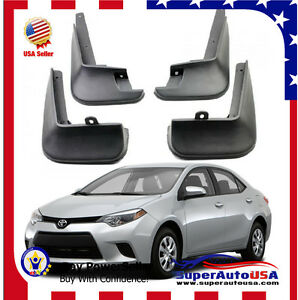 toyota corolla mud flaps in stock replacement auto auto. Black Bedroom Furniture Sets. Home Design Ideas