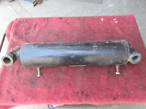 Hydraulic Cylinder Double Acting Rod 5 1 2 Bore 2 1 2 Rod 16 Stroke
