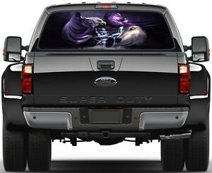 Eagle Wolf Spirits Unity Rear Window Graphic Decal Truck Suv