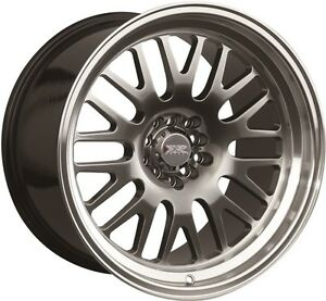 Xxr 531 19x11 Rims 5x114 3 120 15 Chromium Black Wheels Set Of 4