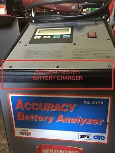 Two Battery Charger tester Otc