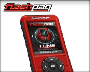 Superchips 3845 F5 Flashpaq Tuner 2003 2012 Dodge Gas And Diesel