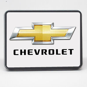 Chevrolet Bowtie Chevy 2 Inch 2 Trailer Hitch Cover Plug Tow Hitch Cover