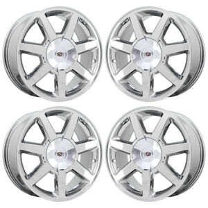 17 Cadillac Cts Sts Dts Pvd Chrome Wheels Rims Factory Oem Qf7 N88 Set 4 4582