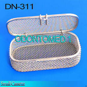 Sterilization Cassette Tray 4 75 X2 25 X1 Perforated Mesh Box Dn 311