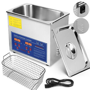 Ultrasonic Cleaners Cleaning Equipment 3 L Liter Industry Bracket W Timer