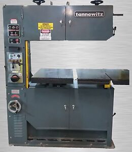 Tannewitz Tr4014w Vertical Band Saw