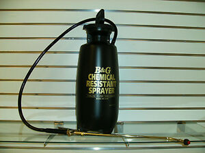 Carpet Cleaning 3 Gallon Chemical Resistant Pump Up Sprayer