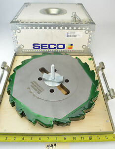 New Seco 13 1 2 Dia 1 Wide Side Face Mill Slot Cutter 2 1 2 Arbor Milling