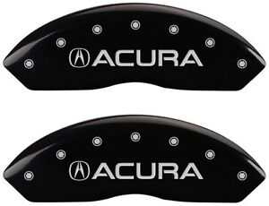 Brake Mgp Caliper Cover Front Rear Black Paint Wheels For Acura Rl 1999 2004