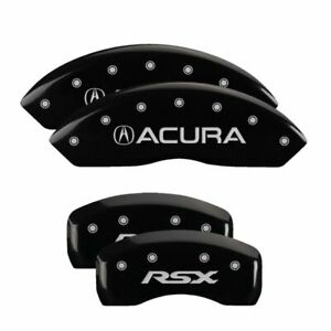 Brake Mgp Caliper Dust Cover Rear Rsx Black Paint Wheels For Acura Rsx 2002 2006