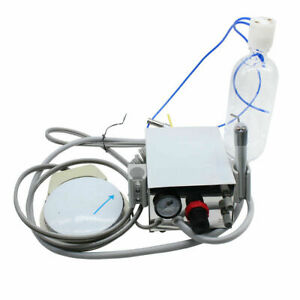 Portable Dental Turbine Unit Work With Compressor 4hole High Speed Wrench Usa