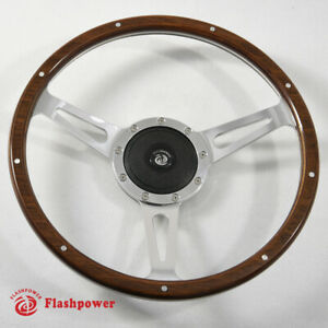 13 Classic Wood Steering Wheel Restoration Vintage Triumph Spitfire Tr4 Tr5 Tr6
