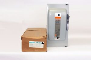 Ite Nf353 100 Amp 600v Non fusible Disconnect Switch New