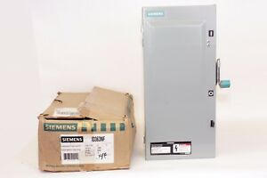 Siemens 1d363nf 100 Amp 600v Type 1 Non fusible Disconnect Switch