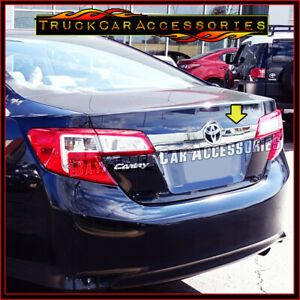 For Toyota Camry 2012 2013 2014 Chrome Tailgate Liftgate Logo Outline Trim Cover
