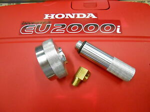 Honda Eu2000i Generator Extended Run Gas Cap oil Fill Drain Tube Kit 1 4 Elbow