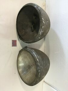 Original Pair Oem 1933 Chevy Truck Headlight Assembly Bucket Twilight Bullet 30s