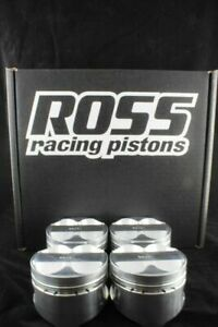 Ross Racing Forged Pistons ring Kit Honda B series 81 5mm B18 B16 12 5 1