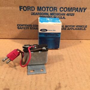 69 70 Nos Oem Ford Xl Ltd Mustang Thunderbird Warning Lamp Relay C9az 10c883 A