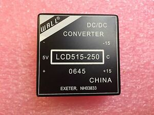 Lcd515 250 Wall Dc dc Regulated Power Supply Module 1 Piece